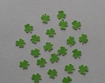 3 Leaf  clover confetti