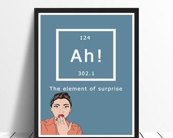 Science Poster - Ah the element of surprise