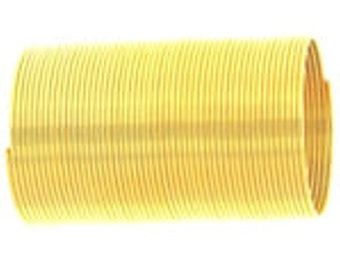 50-loop Memory Wire Ring: gold finish