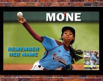Little League World Series | Mo'ne Davis Poster | 19 x 13 inches