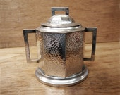 Pewter Biscuit Barrel 1930s