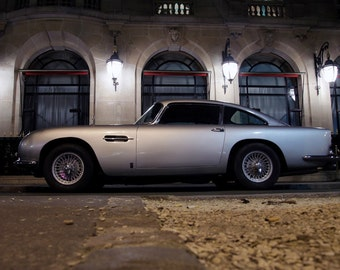 Poster of Aston Martin DB5 Left Side HD Print