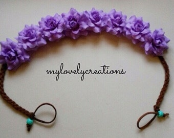 Purple Rose Halo