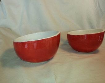 Asian rice/soup bowls