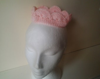 photo prop baby hand crochet crown newborn - 3 month