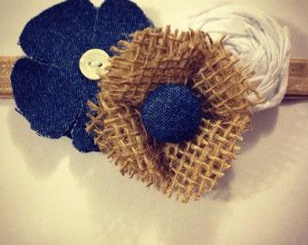 Rustic Romance Girls Headband