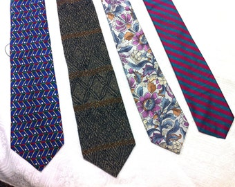 1 - Gorgeous Necktie: Blue, Brown, Floral, Striped Choose One