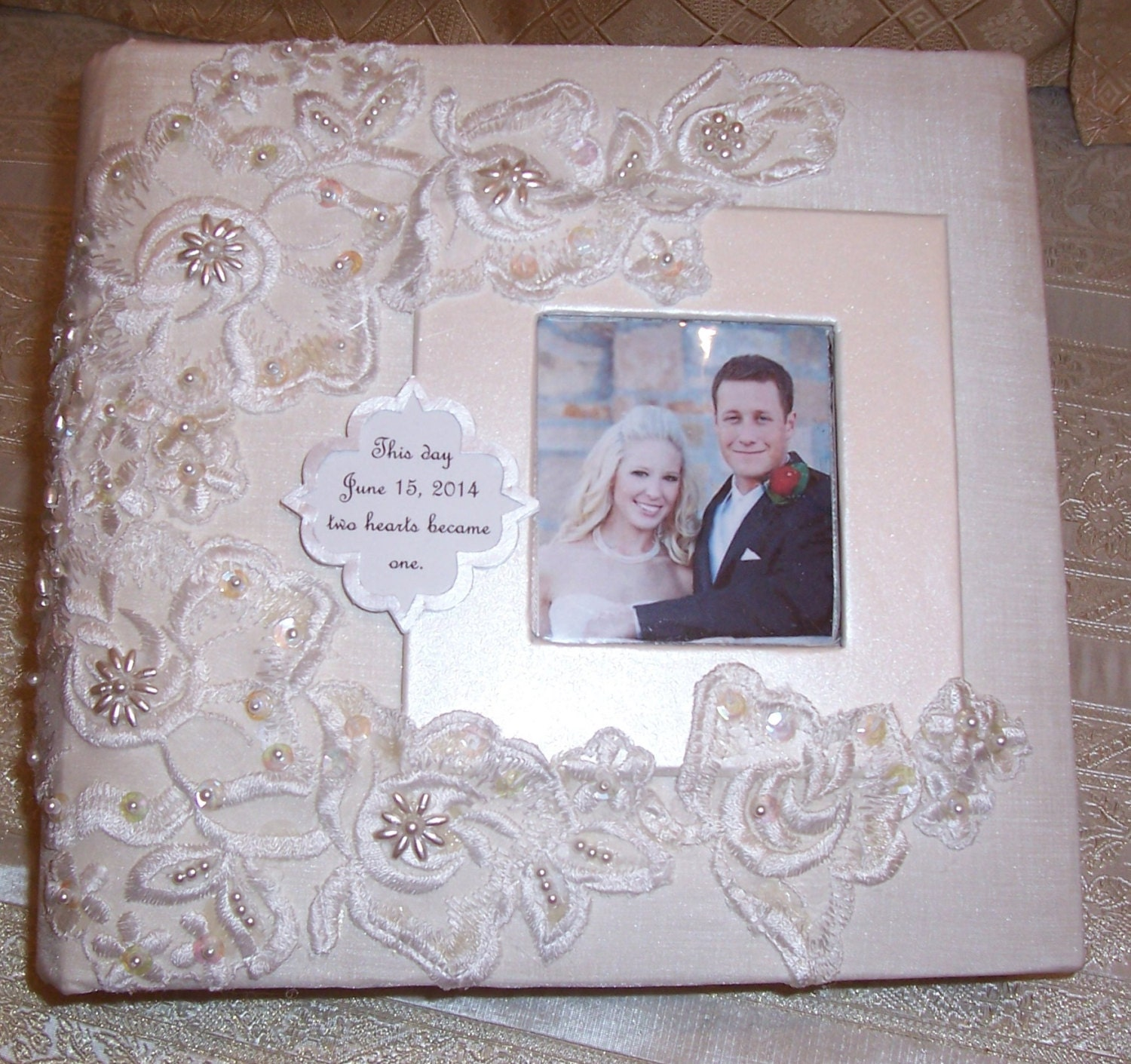 Personalised Wedding Photo Albums: Wedding Photo Album Personalized Date &names 4 By
