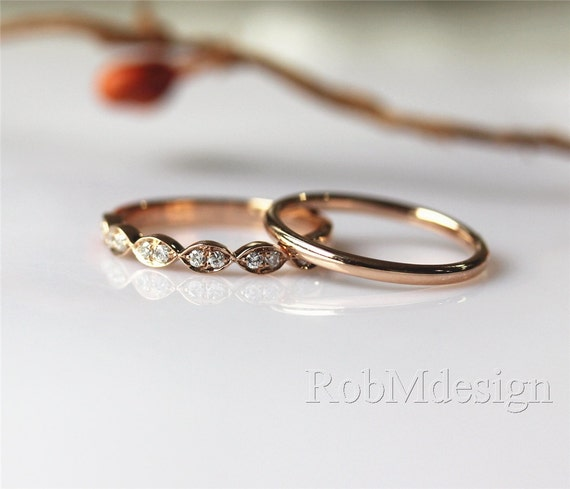 Simple But Elegant Wedding Ring Sets