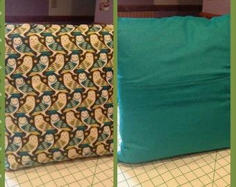 16 x 16 Owl Print Pillow
