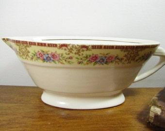 Vintage Porcelain Gravy Boat