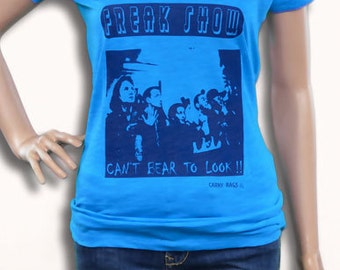 buy 3 get FREE SHIPPING Freakshow can't bear to look! sideshow carnival carny fun fair