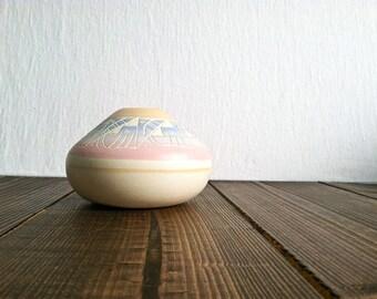 Vintage Pastel Planter/Vase