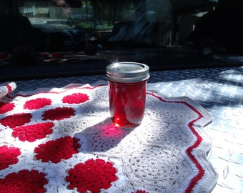 Home made rose jelly