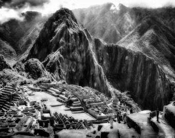 Machu Picchu, Peru. Photographic print 8x10, 11x14
