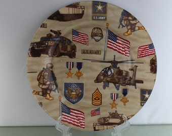 Decorative Army Plate