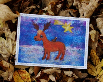 Christmas Reindeer (different languages)