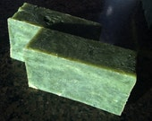 Peppermint Extreme Soap Brilliant Emerald Green Refreshing for Mental Alertness and Waking UP