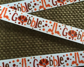 Thanksgiving Ribbon...Turkey Ribbon