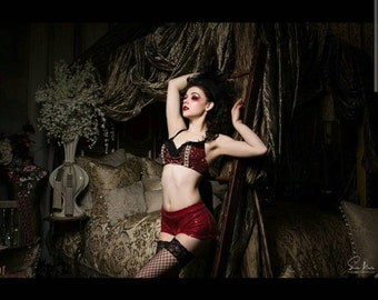 Custom Design Ringleader/Ringmaster Bra Made to Order