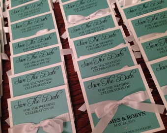Breakfast at Tiffany's Save The Dates
