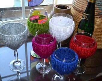 Wine Glass Insulator and Charm