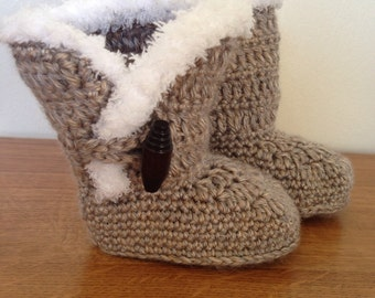 Ugg inspired baby boots for newborn baby snuggle boots ugg boots baby ugg boots