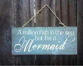 Mermaid sign, mermaid decor, Beach Sign, Beach House Decor, Surf Decor, Surf Shack, Mermaid, Ocean