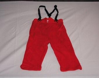 Vintage 1980's - Baby Santa Pants