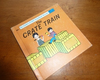 Vintage childrens book The Crate  1966