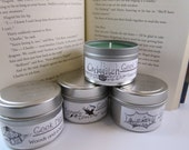 Harry Potter Candle Set of Four 4 oz