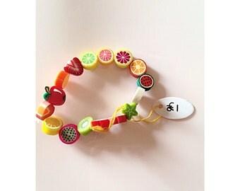 Fruity stretch bracelet