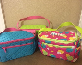 Monogrammed Insulated Lunch Totes