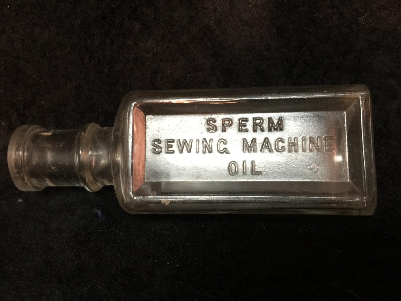 oil Sewing machine sperm
