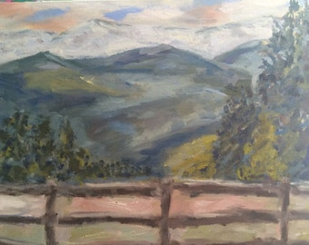 Behind the Scenes - Original Oil Painting by Mary Baude