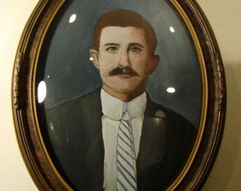 Mustachioed Gentleman