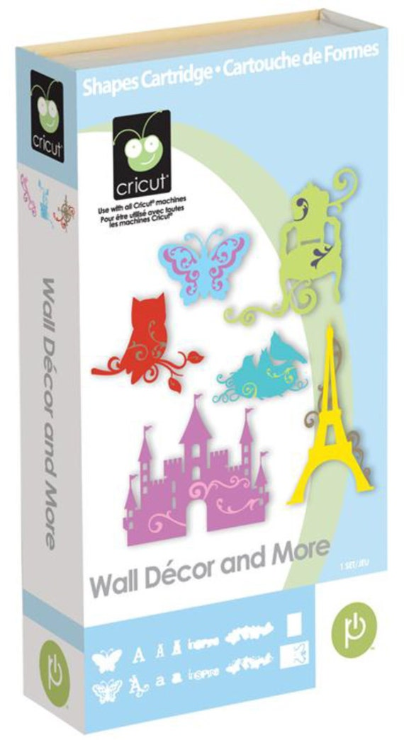 wall decor and more cricut cartridge new in box amp factory