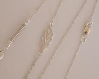 Sterling Silver Chain Necklace/Pendant