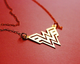 WONDER WOMAN Diana Prince necklace - 4 colors available