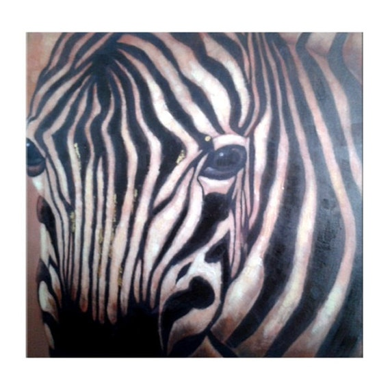 zebra oil painting - photo #15