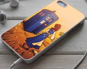 Tardis doctor who Beauty and the beast - Mpk - iPhone 4/4s/5/5s/5c/6, iPad 2/3/4, iPod 5th, Samsung Galaxy S3/S4/S5 case