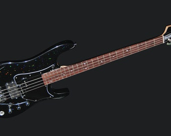 "Buddy Blaze Bass Guitar -- Kinley ""Barney"" Wolfe Signature Model --  4 string electric bass guitar"