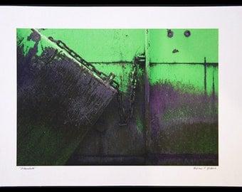 vinculum - print on archival canvas
