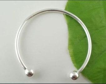Cuff Bracelet, Silver Bracelet, Open Bracelet , Bracelet ,Jewelry ,open Cuff bracelet, Customized Bracelet