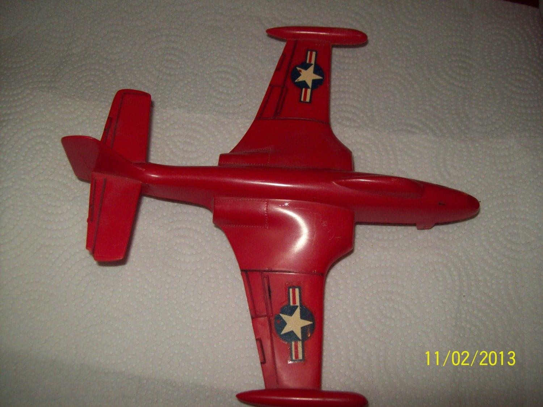 Vintage Plastic Airplane 73