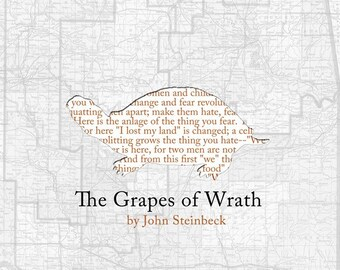 Grapes of Wrath Poster Print