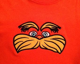 Lorax Inspired Shirt