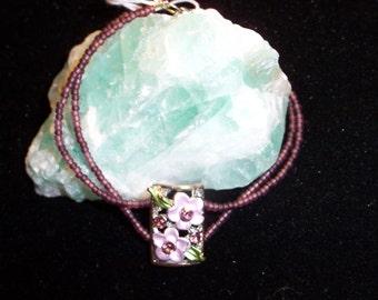 8 inch purple bracelet