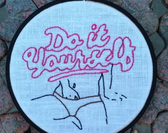 """PORK """"Do It Yourself"""" Embroidery"""