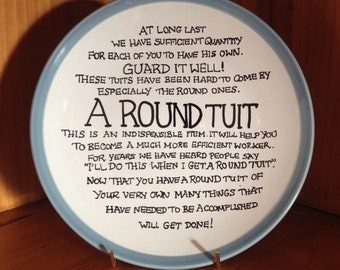Popular Items For Round Tuit On Etsy